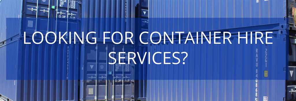 Container service hire